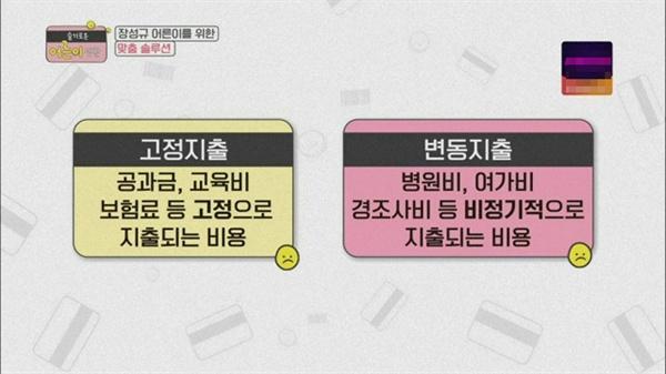KBS의 새 예능 '슬기로운 어른이 생활'