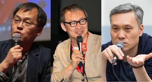 19일 입장문을 발표하고 집단으로 사임한 전주영화제 김영진, 이상용, 장병원 프로그래머