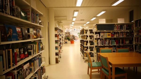 도브라공립도서관의 내부