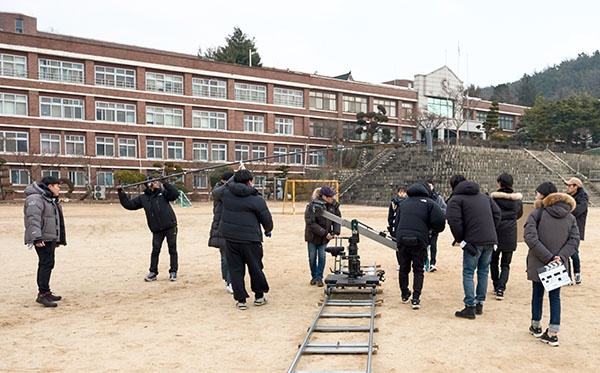 영화 <윤희에게> 촬영장면