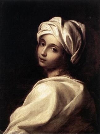 베아트리체 첸치 엘리사베타 시라니, <베아트리체 첸치의 초상>, 1662