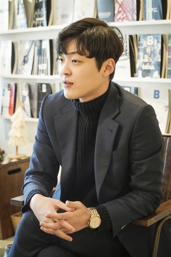 김유현 강사는 영어 강사에 대해 '하면 할수록 욕심이 나는 직업'이라고 말했다.