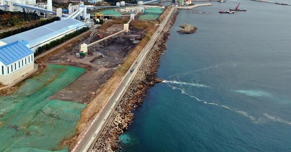동해화력발전소 석탄재매립장