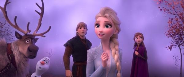<겨울왕국 2>의 한 장면