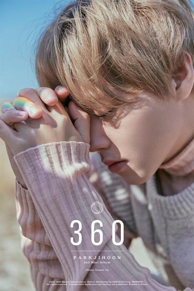 두 번째 미니앨범 '360'으로 돌아온 박지훈