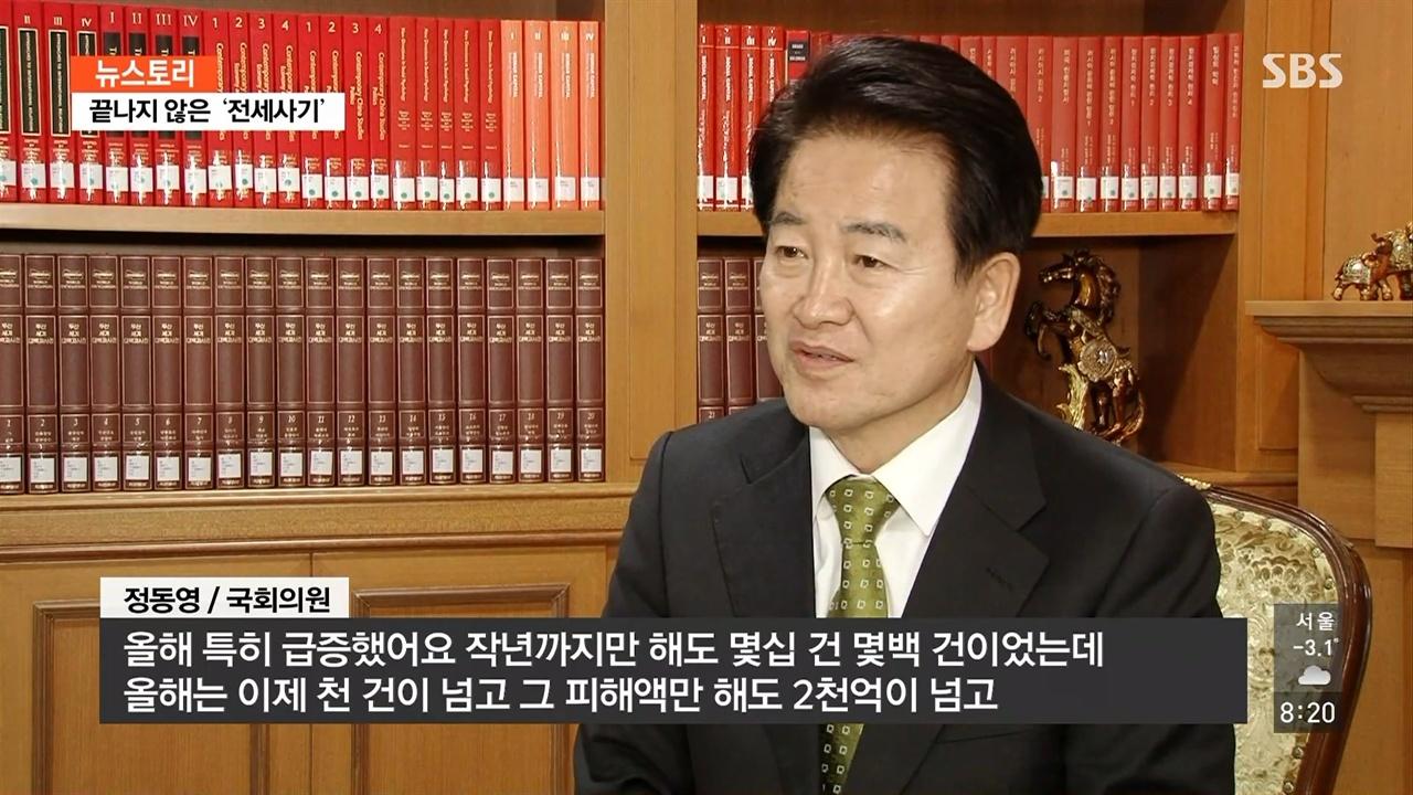 SBS <뉴스토리> '끝나지 않은 전세 사기' 편의 한 장면