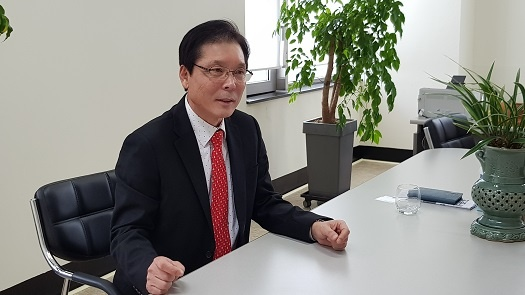 이상권 전의원이다. 최근 예산홍성 지역국회의원으로 출마하겠다는 의사를 밝혔다.