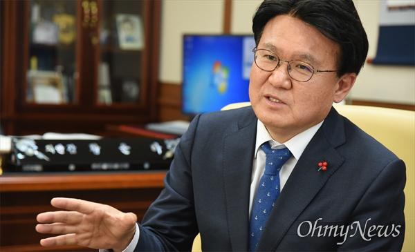 황운하 대전지방경찰청장.