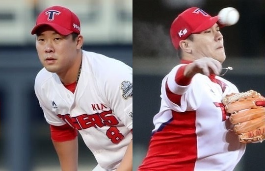 FA 자격을 취득한 내야수 안치홍과 김선빈 (사진 : KIA 타이거즈)
