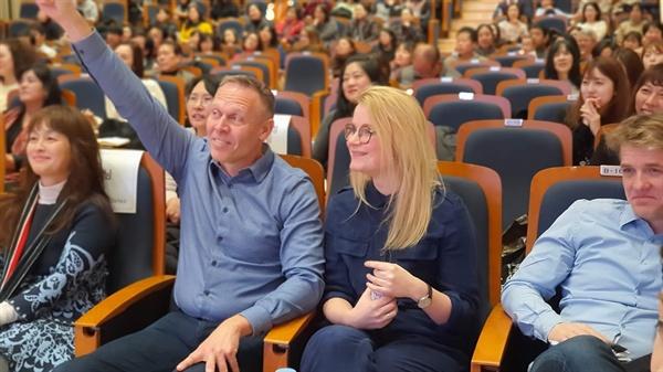 한국을 찾은 덴마크 교사들.