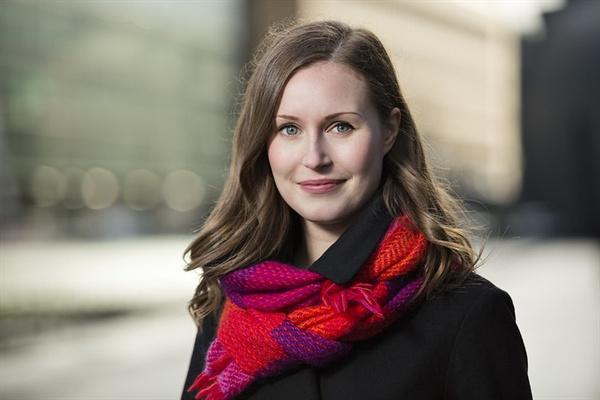 산나 마린 핀란드 총리.