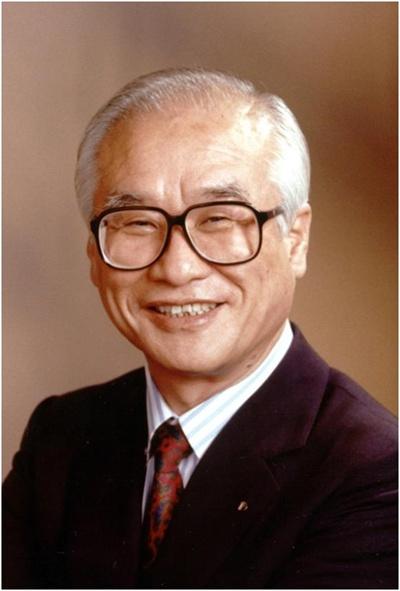 김우중 전 대우그룹 회장이 9일 수원 아주대병원에서 숙환으로 별세했다. 사진은 김 전 회장의 영정.