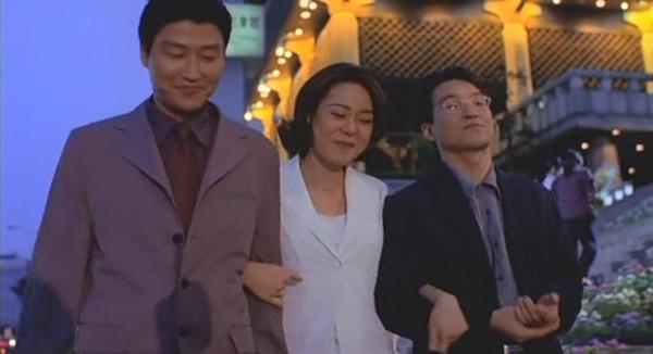영화 <쉬리>의 한 장면.