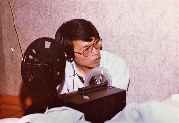 제작과정 중 후시녹음(ADR)을 위해 자체적으로 만든 녹음 시스템