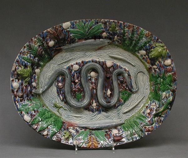 베르나르 팔리시의 도자기 접시