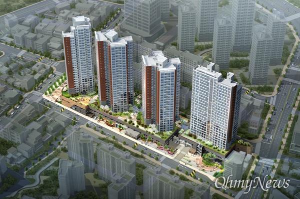 대구시 중구 대봉동 일대에 아파트를 건설하는 (주)서한이 오는 20일 '대봉 서한포레스트' 견본주택을 공개하고 분양에 들어간다.