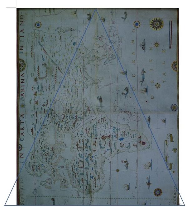 DIOGO RIBEIRO 세계도 1529년작, 로마 바티칸 도서관