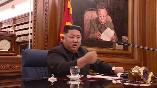 김정은 국무위원장 북한은 김정은 국무위원장이 주재한 가운데 제7기 제3차 확대회의를 열고 국방력 강화하기 위한 문제를 논의했다고 22일 조선중앙TV가 보도했다.