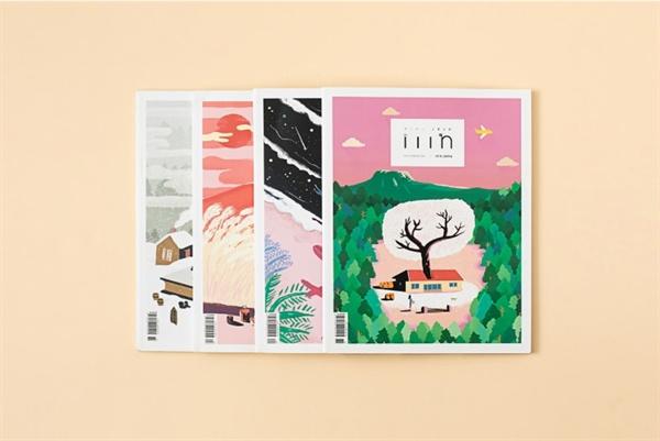 매거진 iiin(인)의 2016년 전권(재주상회 제공)