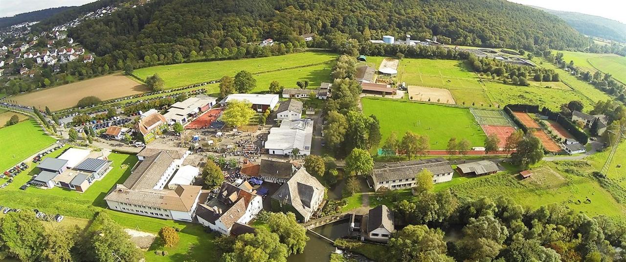 헤센주의 슈타인뮐러 정경 헤센주의 마부르크(Marburg)에 위치한 슈타인뮐러(Steinmuhele) 학교의 정경