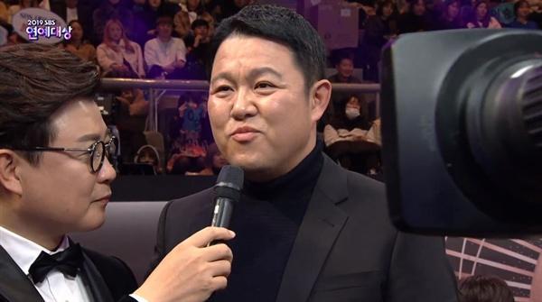 SBS <연예대상>의 한 장면
