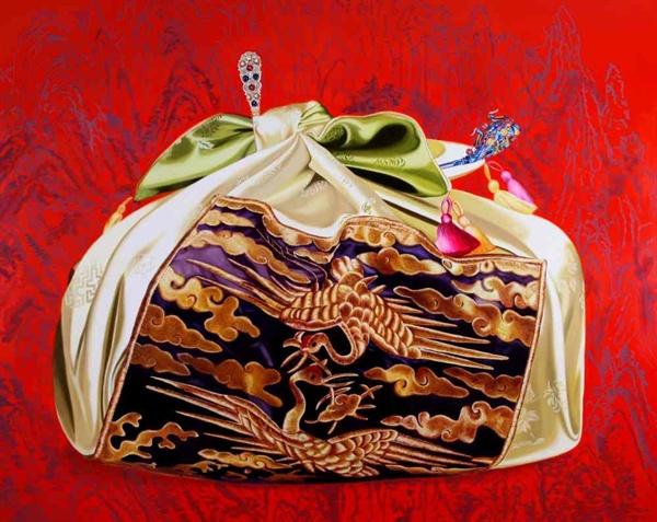 김시현, The Precious Message(162x130.3cm, Oil on canvas), 2013