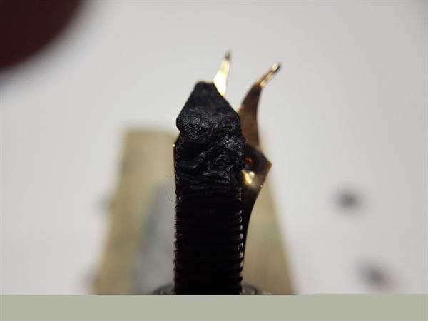 펠리칸 M800 펜촉 수리 전
