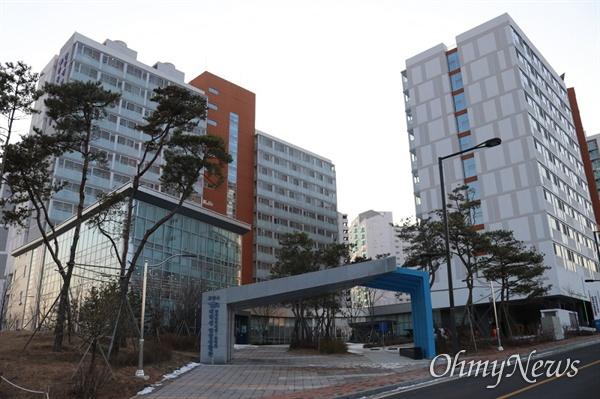 경기도 고양시에 있는 한국장학재단 대학생 연합기숙사.