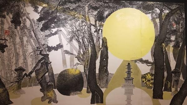 박대성 '삼릉비경'