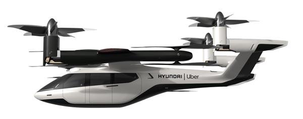 현대자동차의 개인용 비행체(PAV) 콘셉트 모델 'S-A1'.