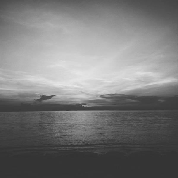 태국 코팡안의 해안가.