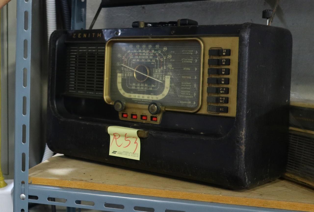 보릿고개 시절 부(富)의 상징이었던 제니스 라디오