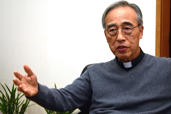 강우일 주교(한국천주교주교회의 생태환경위원장)