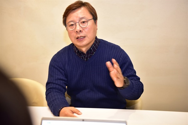 해마로푸드 노동조합 박상배 지회장