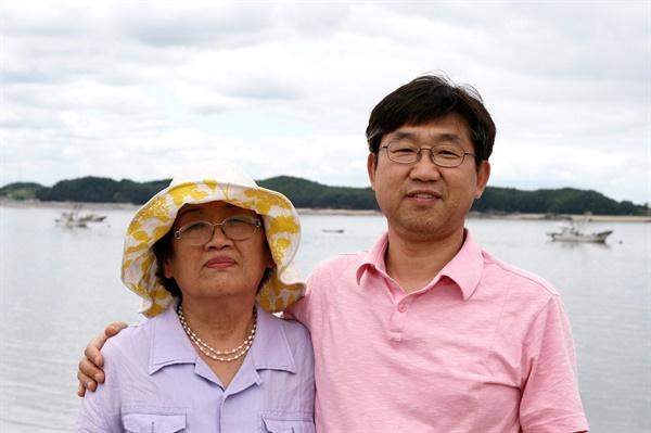 장모님과 함께 떠난 섬여행.