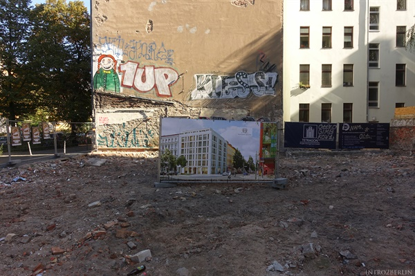 지난 10여년간 베를린의 빈 땅에는 어김없이 고급주택이 들어섰다.