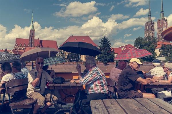독일 노인들의 여유로운 생활