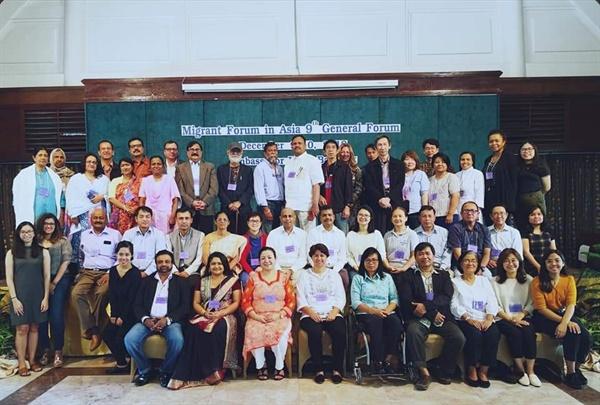 아시아 이주노동자회의 참석자들 아시아이주노동자포럼(MFA) 회원 단체와 ILO, IOM 등이 함께 한 아시아 이주노동자회의 참석자들
