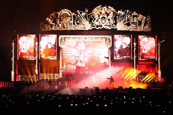 지난 18~19일 진행된 '현대카드 슈퍼콘서트 25 QUEEN' 공연 현장 모습.