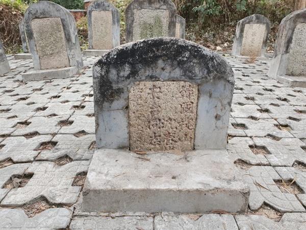 안태 동지(安台 同志)라 적힌 묘비