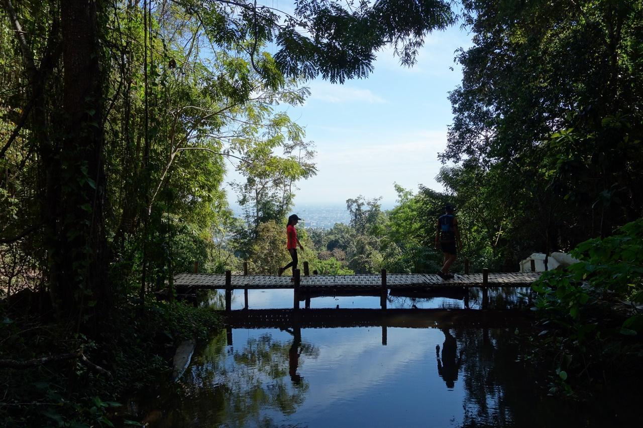 부분과 전체는 하나다 명상이 되지 않는 날 땡땡이 치고 무작정 걷다가 발견한 곳. 산위로 무작정 걸어 올라가니 치앙마이 제일 명소 도이수텝이 나왔다.