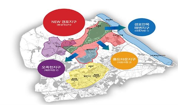강릉시는 28일 지구별 관광거점도시 발전 계획에 대해 발표했다.
