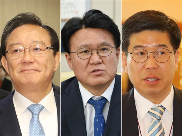 송철호 울산시장, 장황운하 전 울산지방경찰청장, 백원우 전 청와대 민정비서관