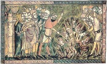 흑사병이 창궐한 시대, 유대인, 집시, 정신장애인과 같은 소수자는 '희생양'이 되었다.