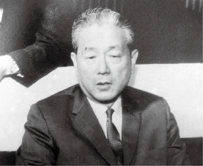 내각 총사퇴 당시 장면 총리(1961. 5.)
