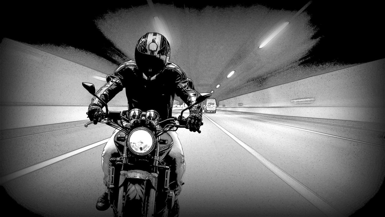 오랜 세월 논쟁의 대상이 된 고속도로 위 오토바이 주행