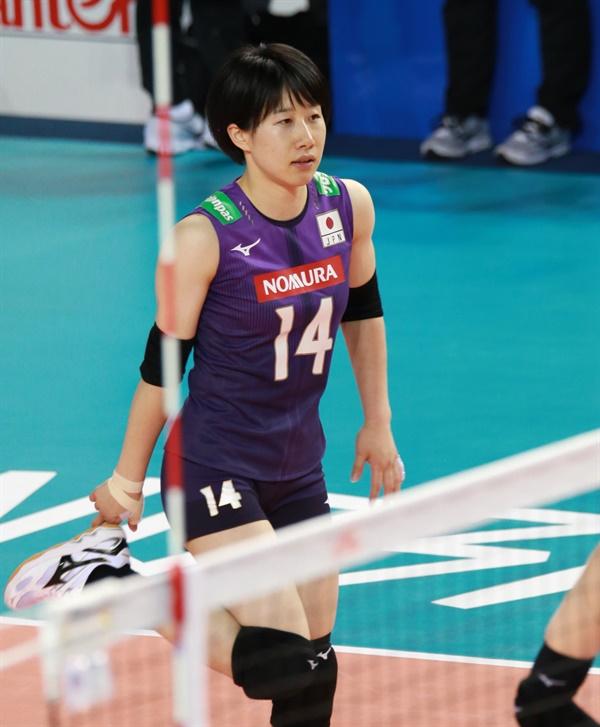 JT 마블러스 코바타(28세)... 일본 대표팀 주전 리베로이기도 하다. (2019.6.20, 충남 보령종합체육관)