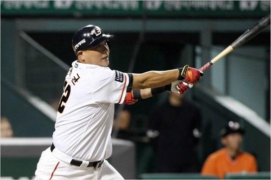 2019년 두 자릿수 홈런에 실패한 한화 김태균