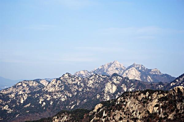 산수화 같은 북한산 풍경