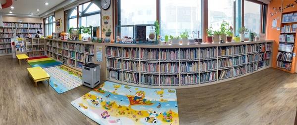 안산시 다문화 어린이도서관 전경